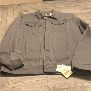 Lucky Brand denim jacket boys extra large new